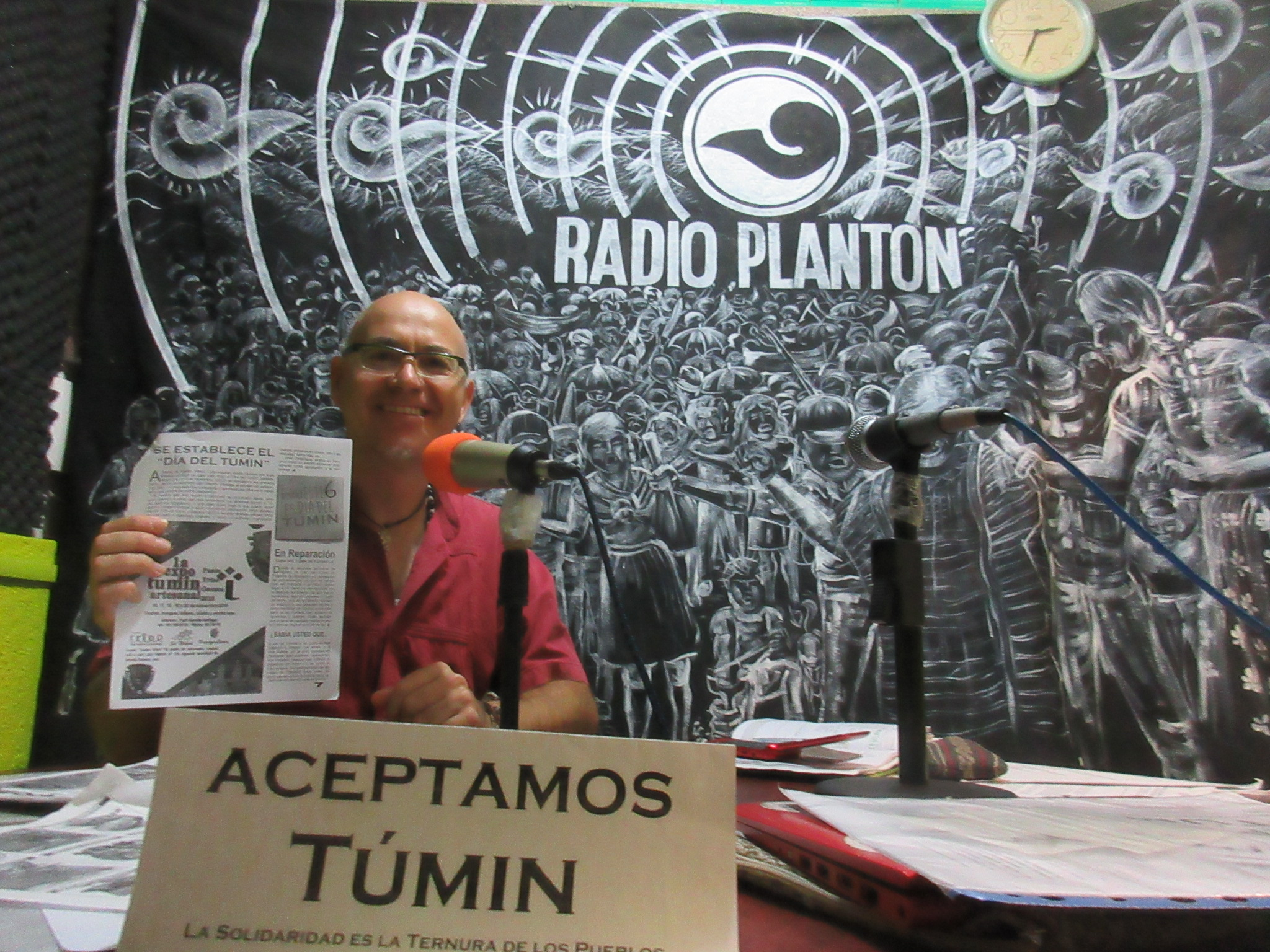 DIA DEL TUMIN en Radio Plantón
